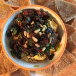 A Golden Twist on Hummus for Fall